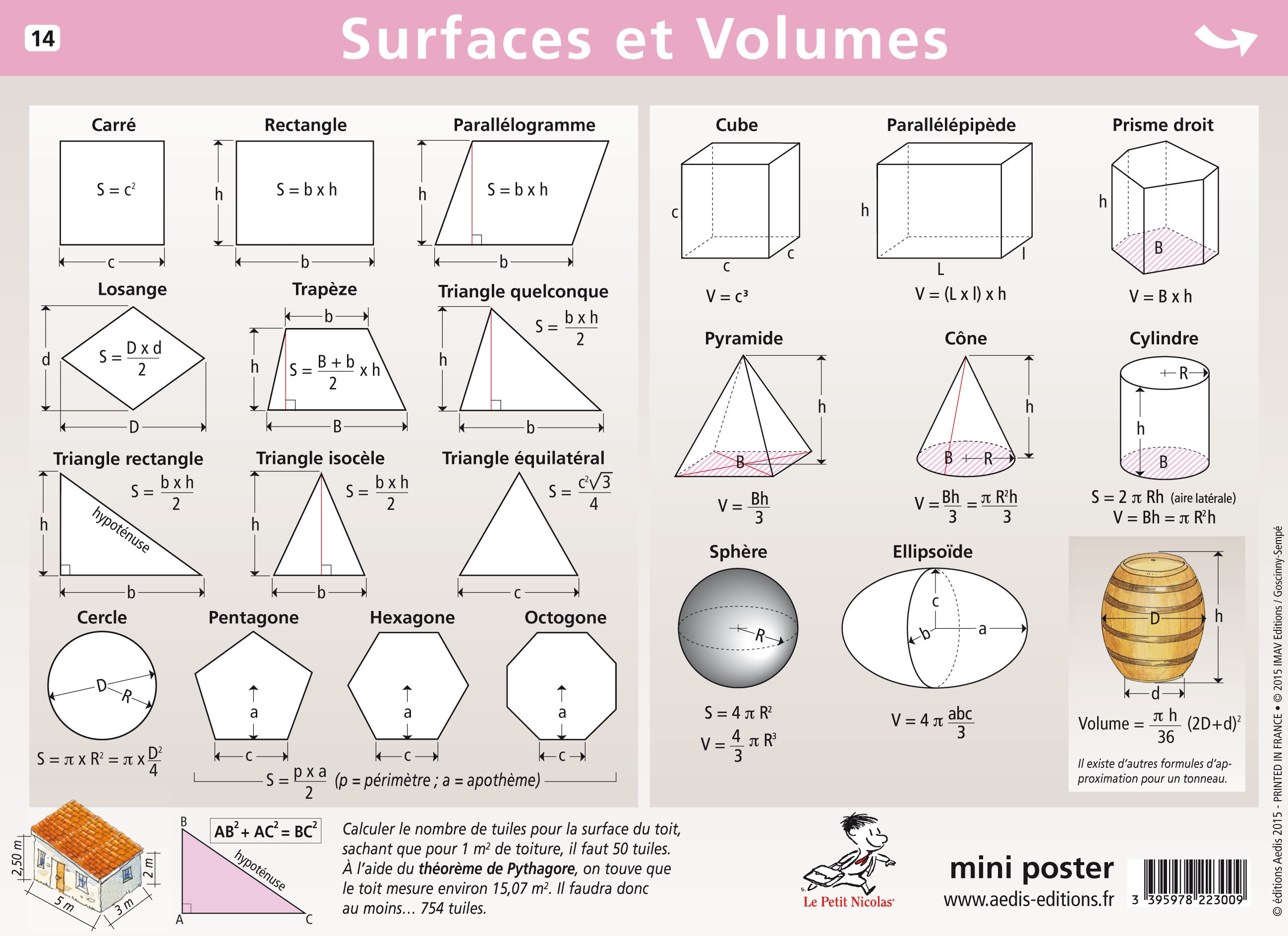 calcul surface et volume pdf